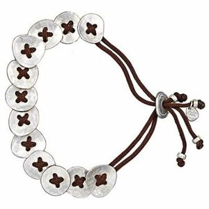 Silpada Button-Up Bracelet
